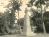 Bustul lui Franz Josef I în curtea cetății