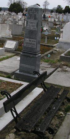Mormântul lui JÁNOSI JÓZSEF