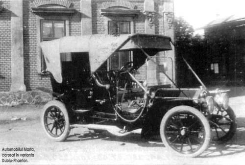 Automobil Marta carosat în varianta Dublu-Phaeton