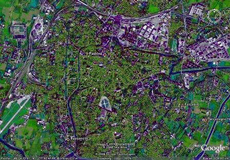Padova, Italia - 210.000 locuitori