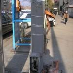Coș de gunoi în Arad